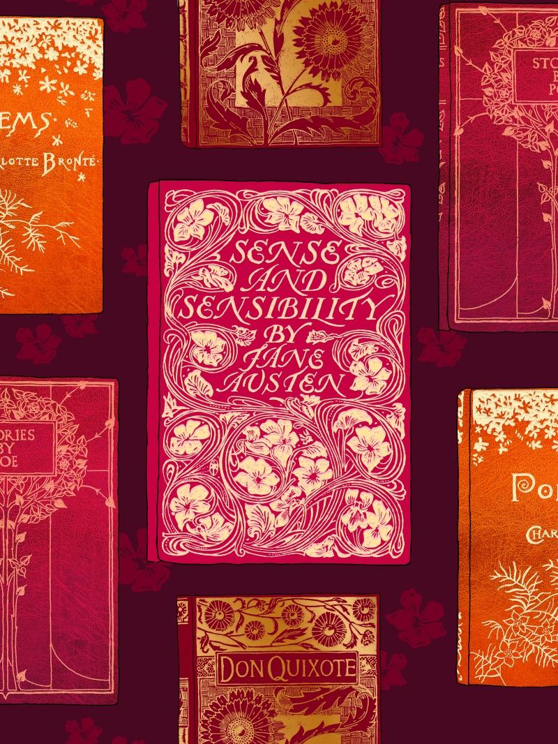 Vintage Buchcover